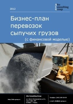 Бизнес-план перевозок сыпучих грузов (с финансовой моделью)