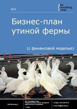 БИЗНЕС-ПЛАН УТИНОЙ ФЕРМЫ ДЛЯ АКМОЛИНСКОЙ ОБЛАСТИ В РЕСПУБЛИКЕ КАЗАХСТАН
