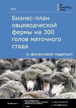 БИЗНЕС-ПЛАН ОВЦЕВОДЧЕСКОЙ ФЕРМЫ НА 300 ГОЛОВ МАТОЧНОГО СТАДА ДЛЯ РОСТОВСКОЙ ОБЛАСТИ