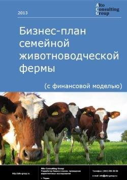 Бизнес-план семейной животноводческой фермы (с финансовой моделью)