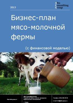 Бизнес-план мясо-молочной фермы (с финансовой моделью)