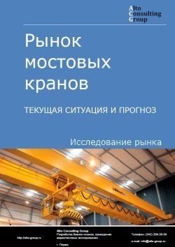 Рынок мостовых кранов. Текущая ситуация и прогноз 2018-2022 гг.