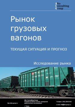 Рынок грузовых вагонов. Текущая ситуация и прогноз 2017-2021 гг.