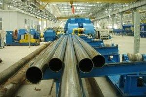 Объёмы производства стальных труб в 2016 году демонстрируют снижение на 12%
