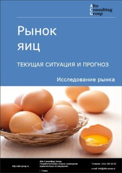 Рынок яиц. Текущая ситуация и прогноз 2017-2021 гг.