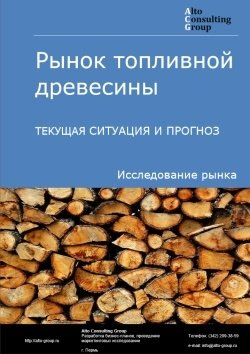 Рынок топливной древесины. Текущая ситуация и прогноз 2018-2022 гг.