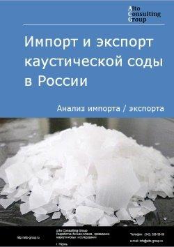 Импорт и экспорт соды каустической в России в 2018 г.