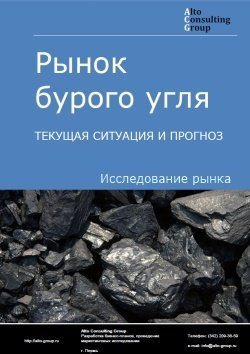 Рынок бурого угля. Текущая ситуация и прогноз 2019-2023 гг.