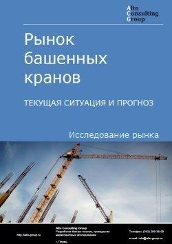 Рынок башенных кранов. Текущая ситуация и прогноз 2019-2023 гг.
