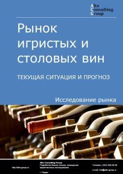 Рынок игристых и столовых вин. Текущая ситуация и прогноз 2019-2023 гг.