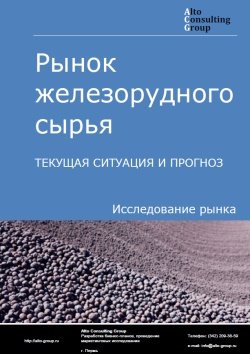 Рынок железорудного сырья (ЖРС). Текущая ситуация и прогноз 2019-2023 гг.