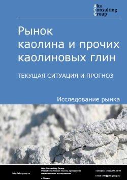 Рынок каолина и прочих каолиновых глин. Текущая ситуация и прогноз 2019-2023 гг.