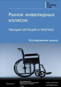 Рынок инвалидных колясок. Текущая ситуация и прогноз 2019-2023 гг.