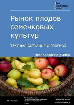 Рынок плодов семечковых культур (яблоки, груши, айва). Текущая ситуация и прогноз 2019-2023 гг.