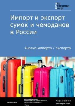 Импорт и экспорт сумок и чемоданов в России в 2018 г.