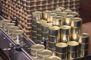 Средние цены на мясные консервы в марте 2019 года составили 73,1 руб./млн. усл. банок