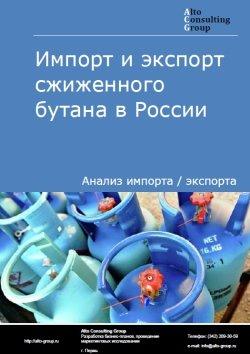 Импорт и экспорт сжиженного бутана в России в 2020 г.